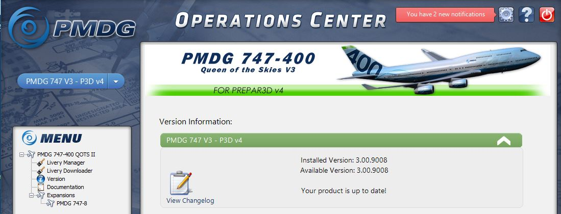 22SEP18] PMDG 747-400 QOTSII: Major Update Released - PMDG